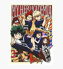 My Hero Academia Photographic Print