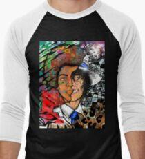King of Pop Men's Baseball ¾ T-Shirt