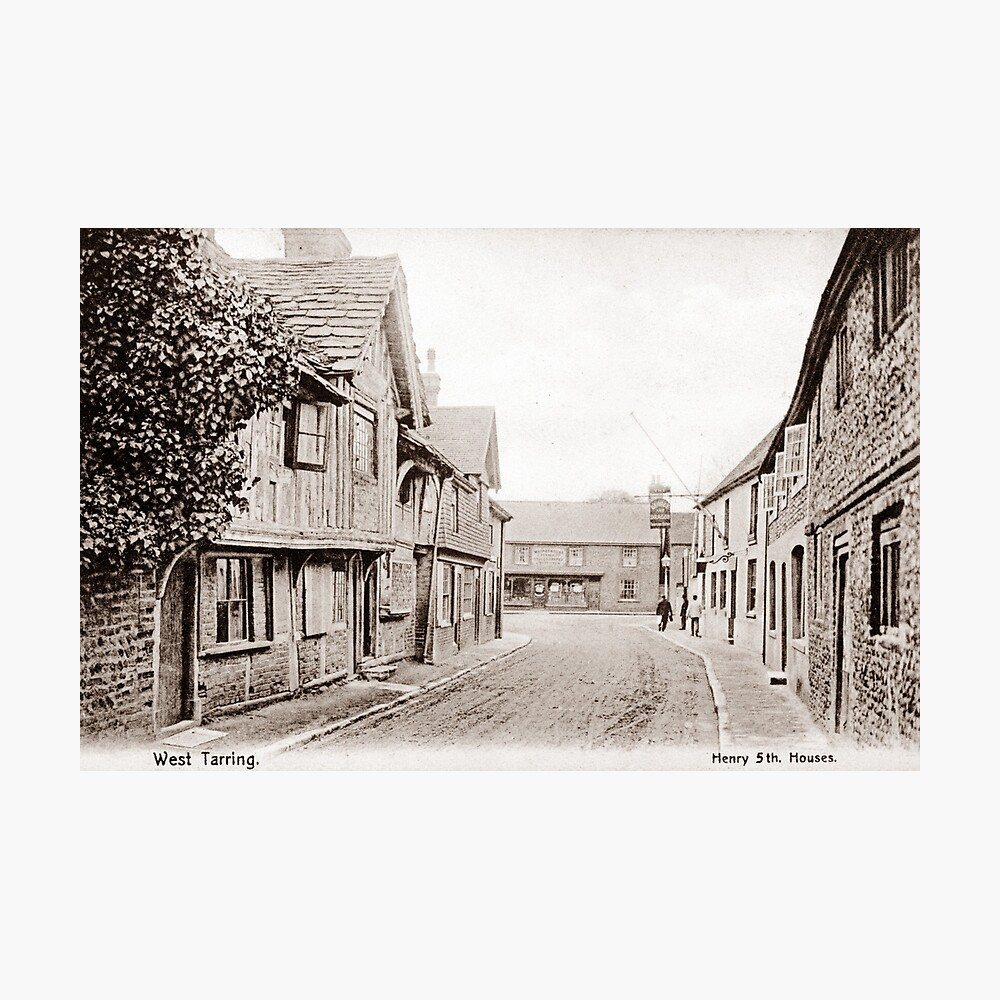 Ref: 03 - High Street, Tarring, Worthing, West Sussex. Photographic Print