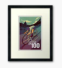 Giro 100 Framed Print