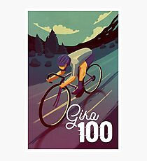 Giro 100 Photographic Print