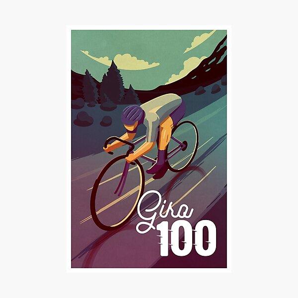 Giro 100 Photographic Print