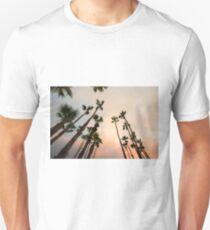 Desert Palms Twilight Unisex T-Shirt
