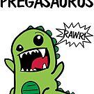 Pregasaurus by digerati