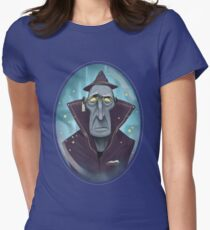 Hipster Wizard Womens Fitted T-Shirt