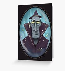 Hipster Wizard Greeting Card