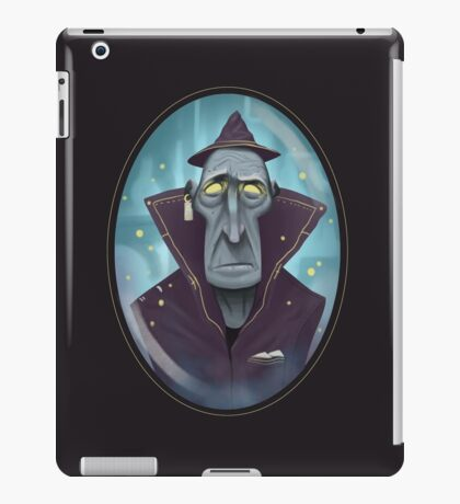 Hipster Wizard iPad Case/Skin