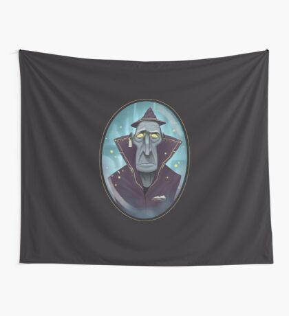 Hipster Wizard Wall Tapestry