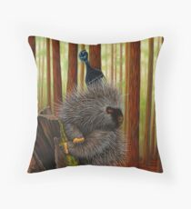 Chill Quill Throw Pillow