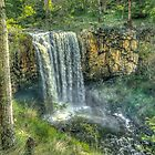 Trentham Falls HDR by sjphotocomau