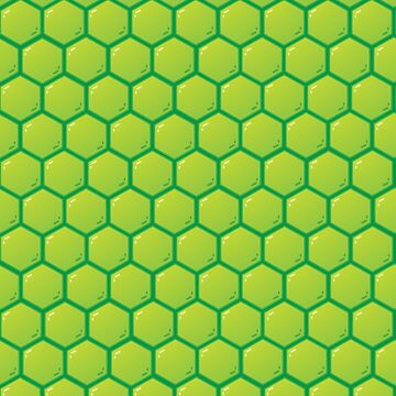 Turtle Power Shell Pattern by halegrafx