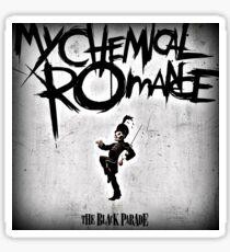 PARADE ROMANCE BLACK CHEMICAL MY SEGAR Sticker