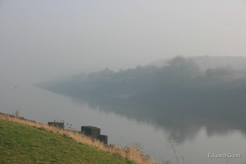 River Tees by Edward Gunn
