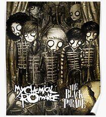 ROMANCE PARADE BLACK CHEMICAL MY SEGAR Poster
