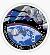 NASA/SpaceX Commercial Resupply Services CRS-8 (SpX-8) Mission Patch Sticker