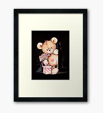 Tommy the Teddy Framed Print