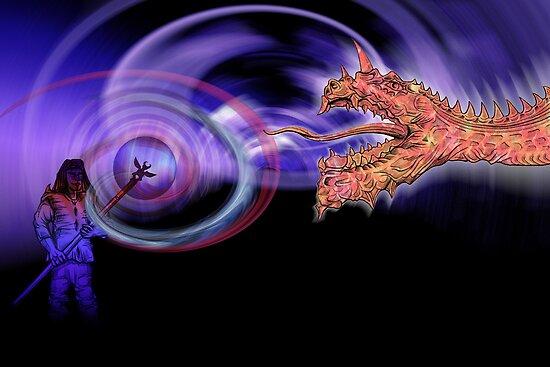 Summon Dragon by Matt83artist