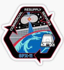NASA/SpaceX Commercial Resupply Services CRS-11 (SpX-11) Mission Patch Sticker