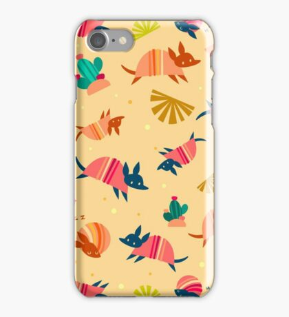 Happy Armadillos iPhone Case/Skin