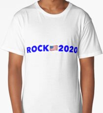 Dwayne 'The Rock' Johnson president 2020 Long T-Shirt