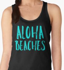 aloha beaches Women's Tank Top