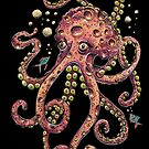 Pink Octopus by Caviglia