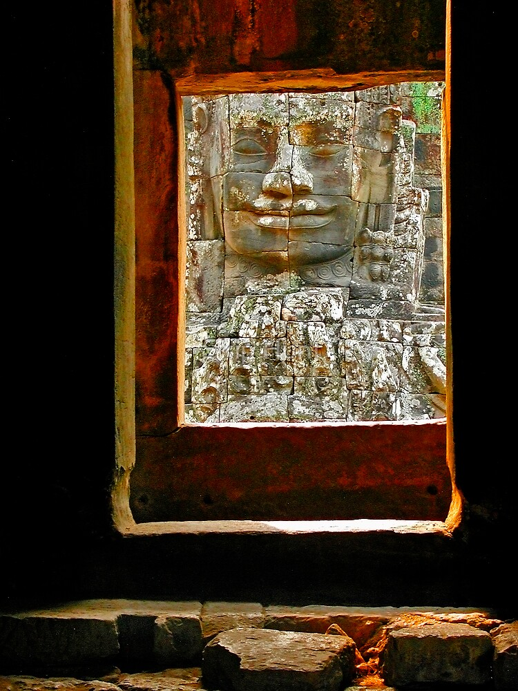 Angkor Frame by Skip Hunt