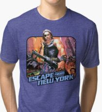 Escape (80s Iron-On Style) Tri-blend T-Shirt