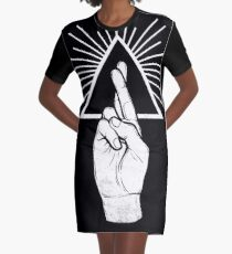 Winya No. 87 Graphic T-Shirt Dress