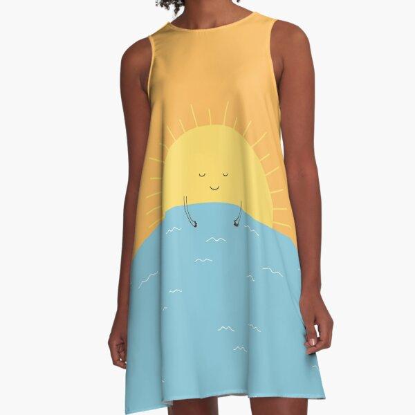 good morning sunshine! A-Line Dress