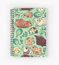 Guinea Pig Huddle Spiral Notebook