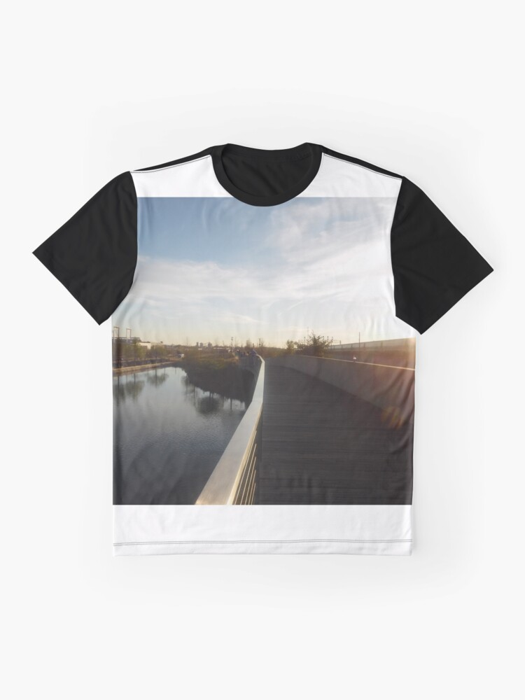 Alternate view of Long Roads  Graphic T-Shirt