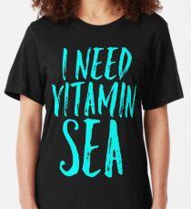 i need vitamin sea Slim Fit T-Shirt