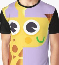 Newborn Giraffe Graphic T-Shirt