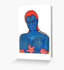 Mystique  Greeting Card