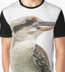 Kookaburra gracefully resting during the day Graphic T-Shirt