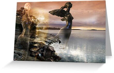 Fantasy (from my exhibition) by Antanas