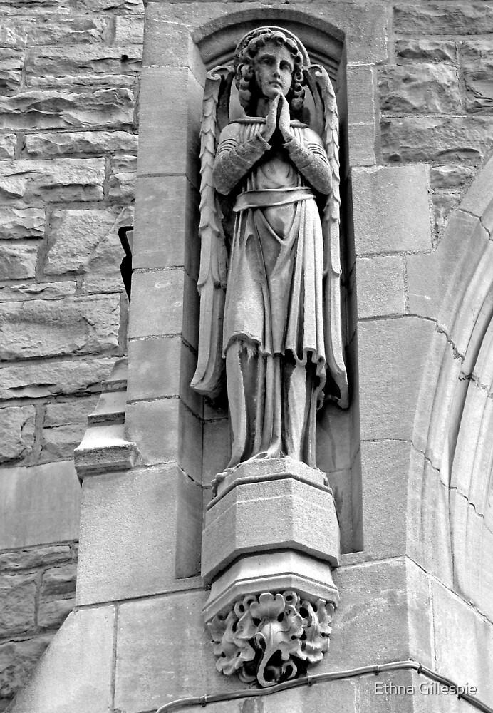 Standing Angel by Ethna Gillespie