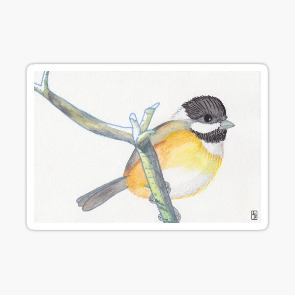 Chickadee-dee-dee Sticker