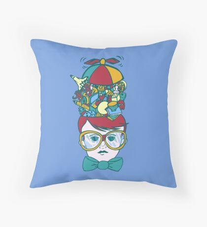 Brainy Throw Pillow