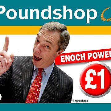 Poundshop Enoch Powell by AlphaRich