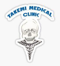 Takemi Medical Clinic Sticker