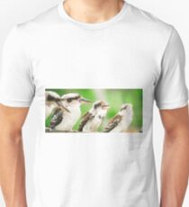 Kookaburras gracefully resting during the day. Unisex T-Shirt