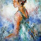 Ballet Dancer Sitting - Dance Art Gallery 49 by Ballet Dance-Artist