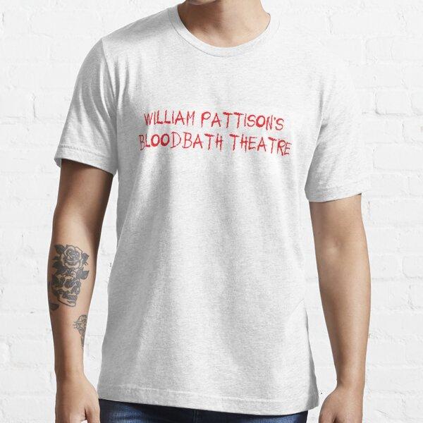 Bloodbath Theatre--White Essential T-Shirt