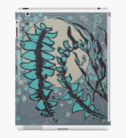Linocut Banksia Leaves iPad Case/Skin
