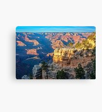 Golden Hour at Bright Angel Trail -Grand Canyon Canvas Print