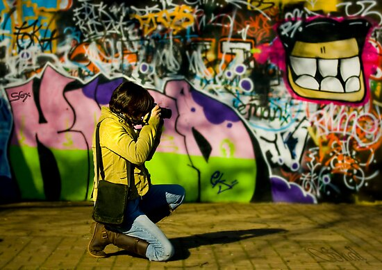 The Graffiti Artist! by shall
