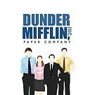 Dunder Mifflin Paper Company - The Office by 4ogo Design