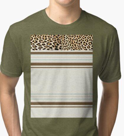 Lodge décor - Leopard fantasy Tri-blend T-Shirt